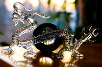 Lampwork dragon and Canon 85L