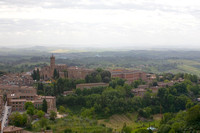 view to tuscany